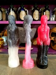 Candle - Female Figure Two Toned