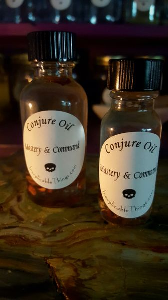 Mastery & Command Oil