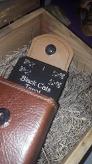 Handmade Leather Tarot Card Case