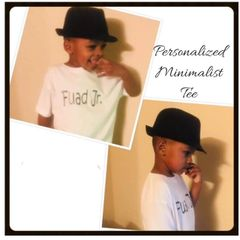 A Personalize Children Tee
