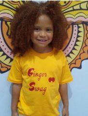 -Children Tee - Ginger Swag for our beautiful red heads
