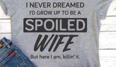 Spoiled WIFE - Killin' it - Gildan Ladies Missy Fit Tee