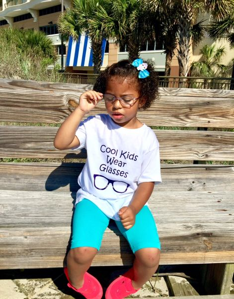 -Cool Kids Wear Glasses Tee