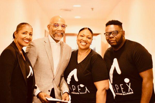 APEX Leadership Alliance Short Sleeve Black & White Tee