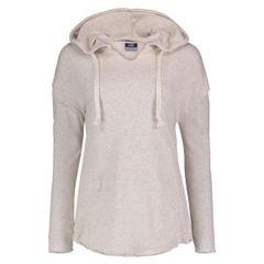 MV Sport Oatmeal Women's Fleece Terry Nora Pullover Sweatshirt + Monogram Initials