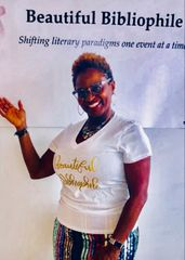 SPECIAL - Beautiful Bibliophile - Bella + Canvas Jersey V Neck Tee $5.00 goes towards the cause