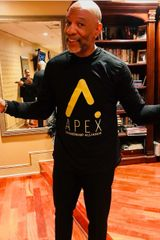 APEX Leadership Alliance Black & Gold Tee (Choose Short or Long Sleeve)