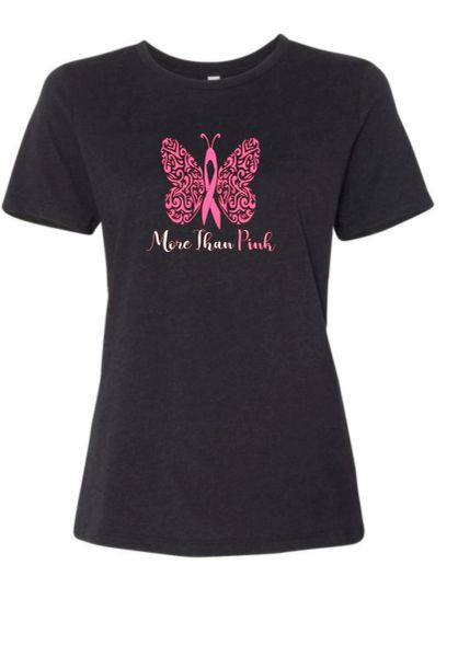 Special - More Than Pink - Bella + Canvas Jersey Tee $5.00 goes towards the cause