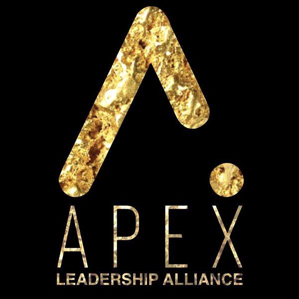 APEX Leadership Alliance Black & Gold Anvil Unisex Short Sleeve Tee