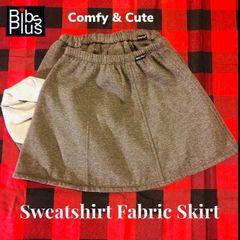 Handcrafted Medium Weight Sweatshirt Fabric Skirt