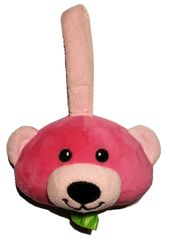 lilBagie Plush Pink-a-Boo Bear Bag Dispensers to aid in the disposal of soiled diapers
