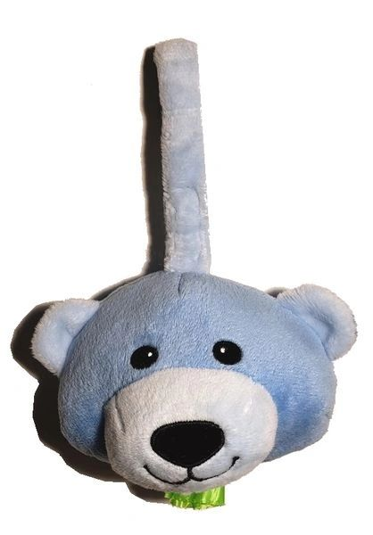 lilBagie Plush lil Blue Bear Bag Dispensers to aid in the disposal of soiled diapers