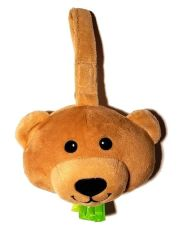 lilBagie Plush Teddy Bear Bag Dispensers to aid in the disposal of soiled diapers