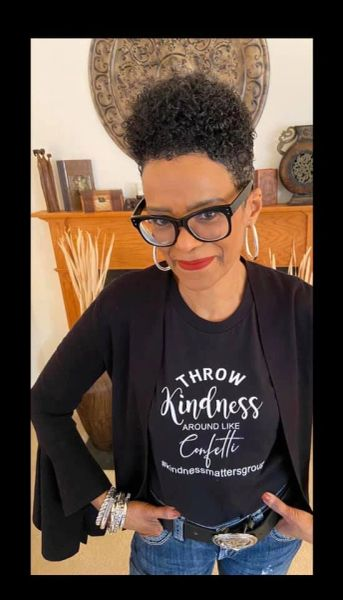 Lady Fitted Bella + Canvas Kindness Matters Tee