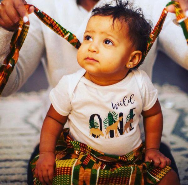 Infant Wild One Vinyl Imprint Bodysuit/Onesie
