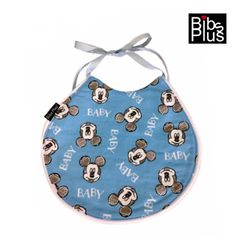 ~Baby Boy Mickey & Teddy Classic Baby Bib - Limited Edition