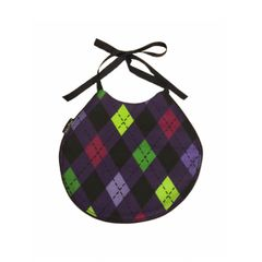 ~Argyle Baby Bib - Limited Edition
