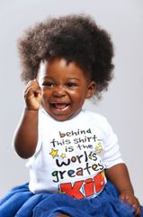 -Short Sleeve Infant Jersey Tee - Worlds Greatest Kid