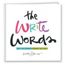 The Write Words - Hard Copy by Kathy Davis