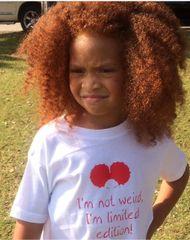 -Children Tee - I'm not weird, I'm limited Edition