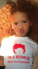 -Children Tee - I'm a Redhead What's Your Superpower