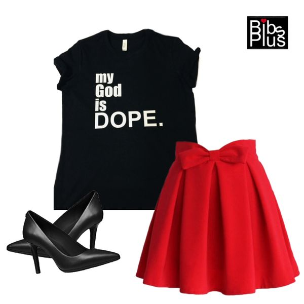 size 40 fb725 b6dad my God is DOPE Bella + Canvas Jersey Tee - For every tee purchase we donate   5.00 to St. Jude   Bibs Plus