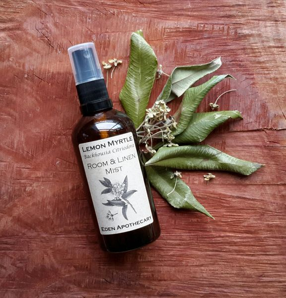 Australian Lemon Myrtle ~ Pure Essential Oil ~ Aromatherapy Mist ~ 100ml