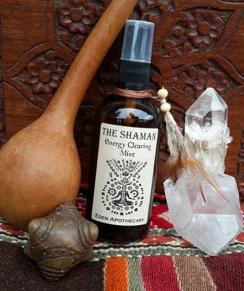 The Shaman ~ Energy Clearing Mist ~ Blessed in Ceremony