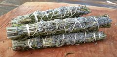 Lavender ~ Rosemary & Thyme Sacred Smudge Wand