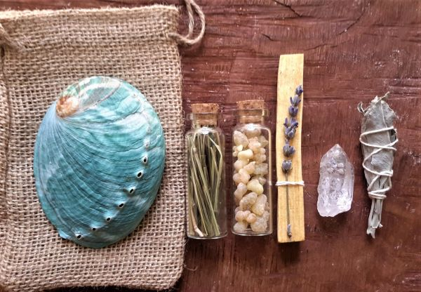 Sacred Plant Medicine Healing Bundle | Sacred Smoke ~ Homegrown Plan Medicines | Cleanse ~ Release ~ Heal