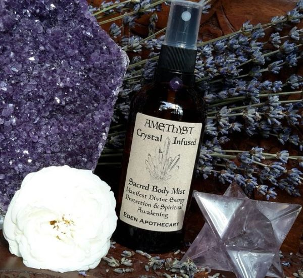 Amethyst + Lavender | Crystal Infused Alchemy Mist | Sacred Skincare