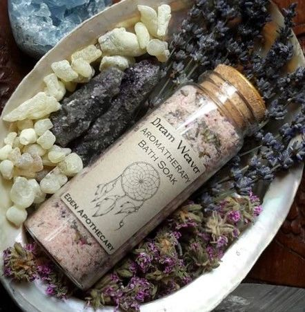 Dream Weaver ~ Sacred Sleep ~ Aromatherapy Bath Soak