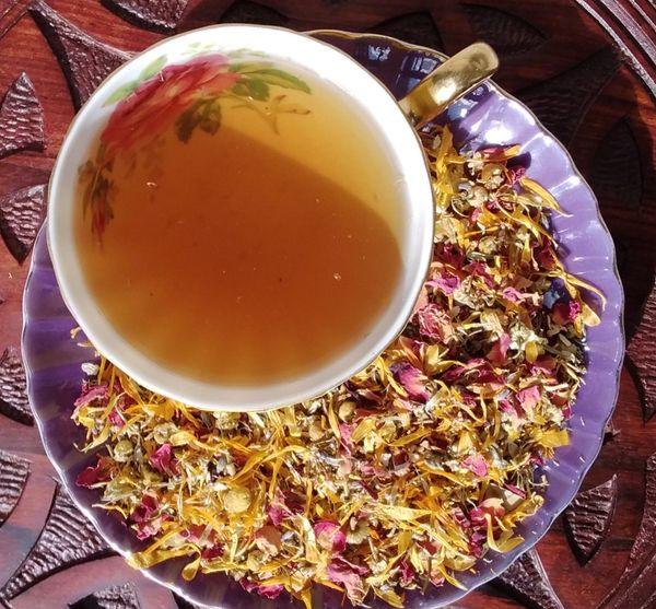 Organic Tisane ~ Soothe, Relax, Nurture ~ Medicinal Botanical Blend