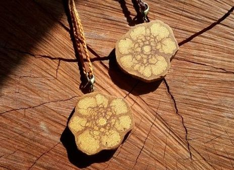 Ayahuasca ~Spirit of Mother Earth ~ Pendant over Heart