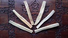Palo Santo 'Holy Wood' Sticks x 6
