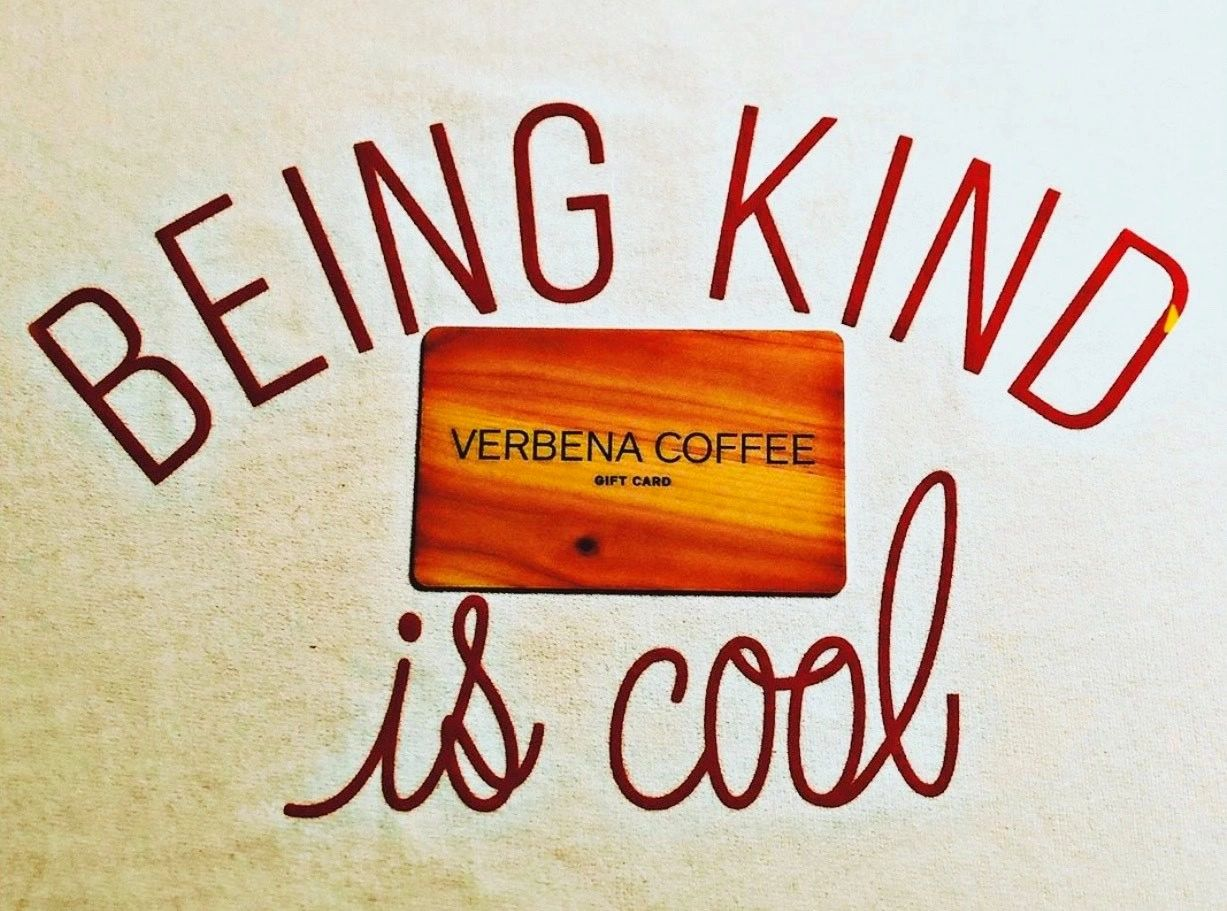 Verbena Coffe E-Gift Card