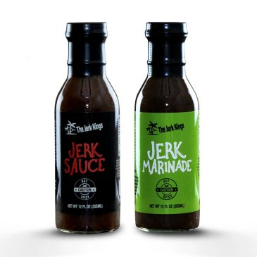 Tried our spicy jerk marinade or jerk sauce? This duo of deliciousness is the best hot seasoning around!