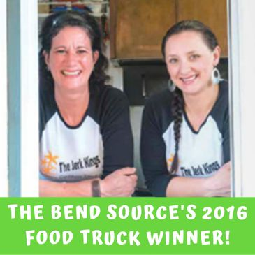 The Jerk Kings was awarded 2016's Food Truck of the Year by the Bend Source Magazine.