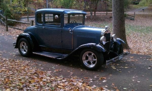 1930 Ford Model-A Rumble-Seat Hotrod Coupe -- Professionally Built -- Showcased on The History Channel