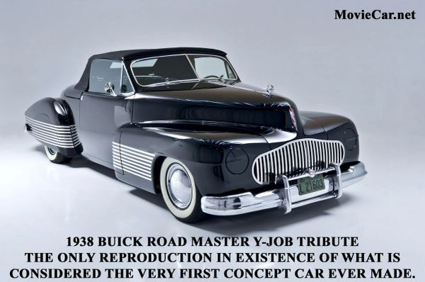 1938 Buick Road Master Y-JOB Tribute Convertible - First Concept Car Ever Made