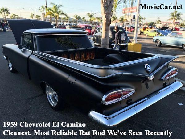 1959 Chevrolet El Camino - Rat Rod Custom -- Complete in Every Way