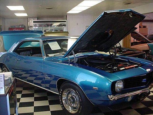 1969 Chevrolet Camaro ZL-1 -- Authentic All-Aluminum 427 ZL-1 Motor
