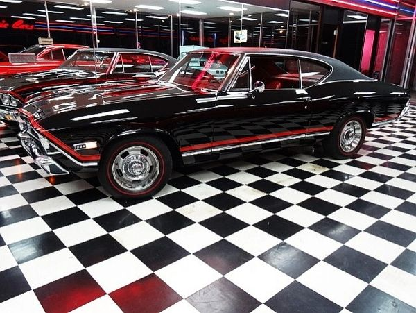 1968 Chevrolet Chevelle SS -- A Real Factory SS -- 396 with a Muncie 4-Speed -- Clean!