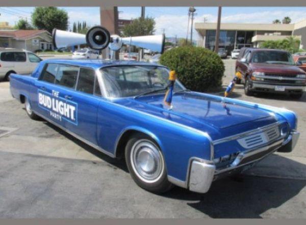 1961 Lincoln Lehman Peterson Limousine - BUD LIGHT - Custom