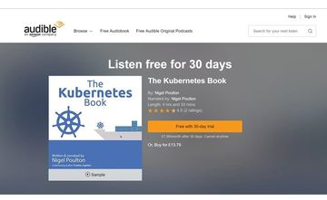 The Kubernetes Book on audible