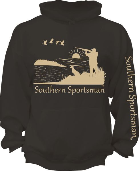 Southern Sportsman Duck Hunt Hoodie ( 9 Different Colors )