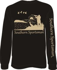 Southern Sportsman Duck Hunt Long Sleeve T-shirt ( 9 Different Colors )