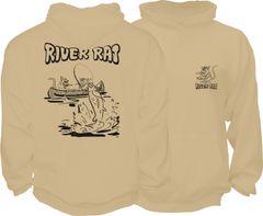 River Rat Hoodie ( 6 Different Colors )