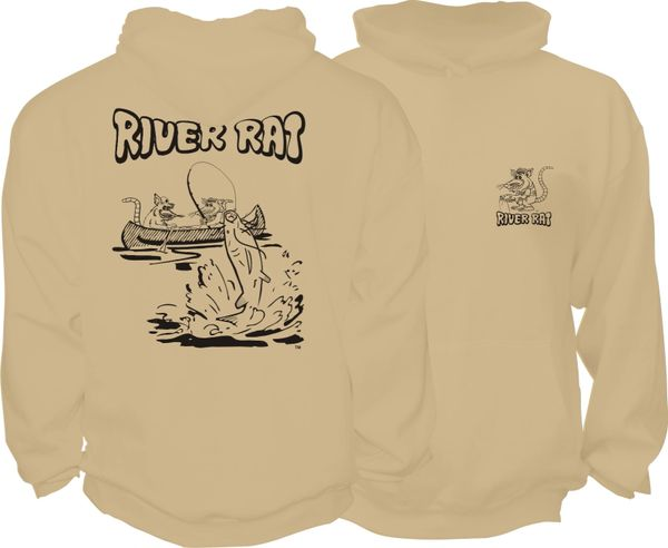 River Rat Hoodie ( 6 Different Colors )