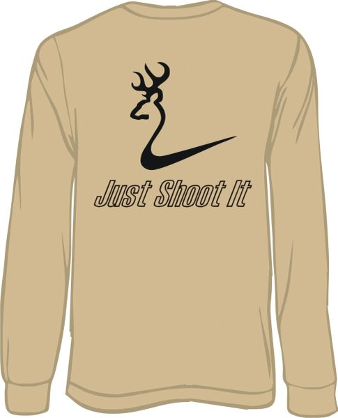 Just Shoot It Long Sleeve T-shirt ( 5 Different Colors )